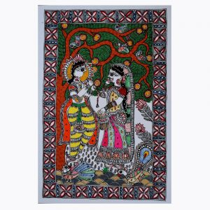 Popular Size Madhubani Painting