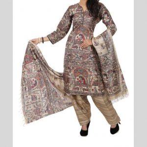 Madhubani Hand Painted Salwar Suits & Dupatta