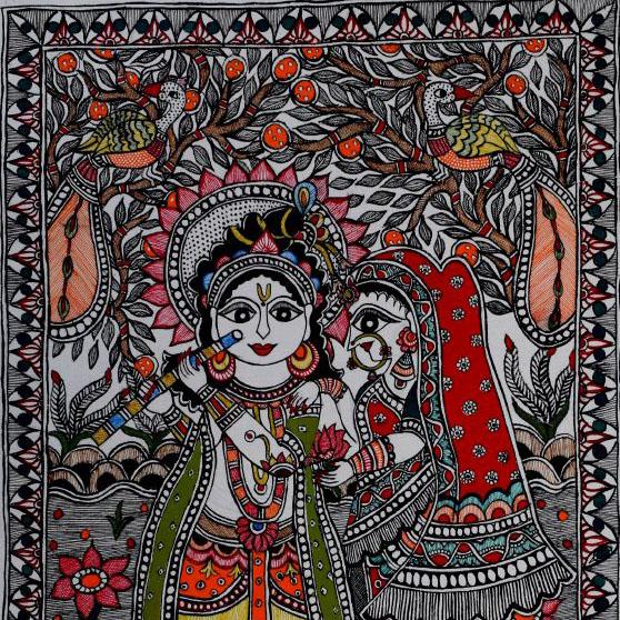 Madhubani/Mithila Painting