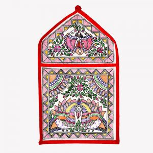 Madhubani Wall Pocket Single